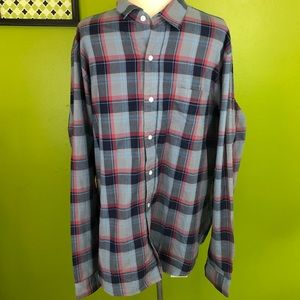Taylor Vintage Button Up Shirt, XL, NWT